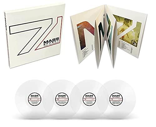Mass Effect Trilogy - Vinyl Collection 4LP Box Set - Zavvi Exclusive Transparent Variant - Limited to 300 copies worldwide