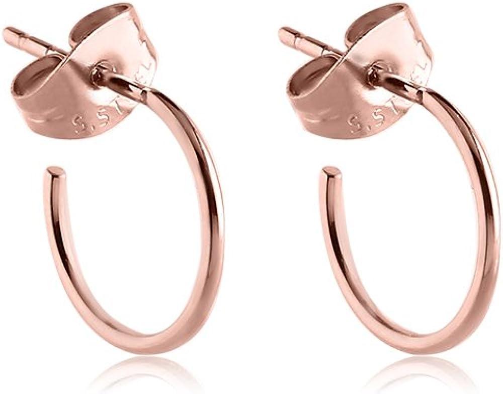 316L Surgical Steel Hoop Earrings CHOOSE YOUR COLOR
