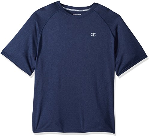 Champion Vapor® Men's Heather Tee With Vent S Blue