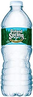 Poland Spring Bottled Water, 16.9 oz, 35 Count