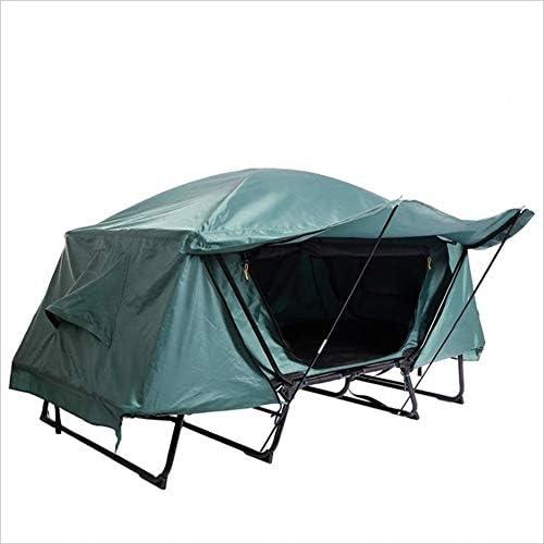 Zgsjbmh Tente DE Camping Lit Simple Multifonctionnel de Tente Simple imperméable à l'eau Froide de Loisirs extérieurs de pêche Pliant la Tente au Sol de Dessus de Voiture