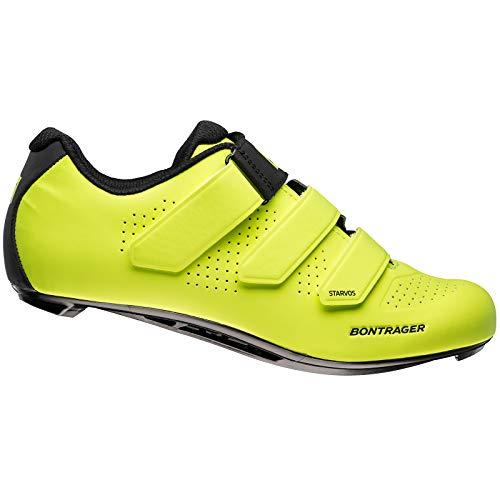 Bontrager Starvos Rennrad Fahrrad Schuhe gelb 2021: Größe: 47