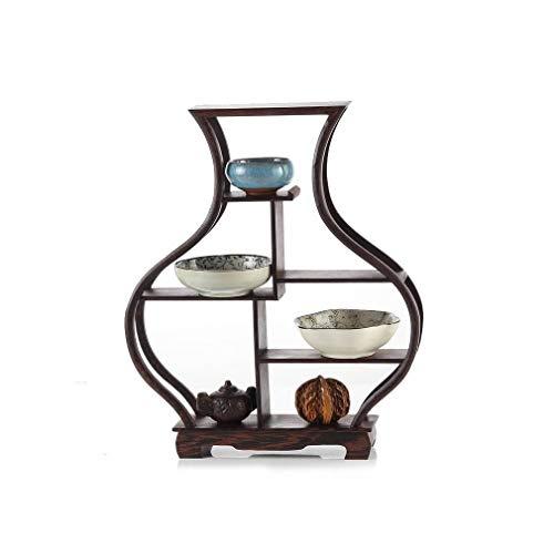 lachineuse Meuble Chinois Miniature - Étagère Traditionnelle - Forme Vase