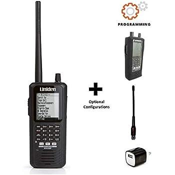 Uniden BCD436HP II OPTIMIZED HomePatrol Series Digital Handheld Scanner Bundle