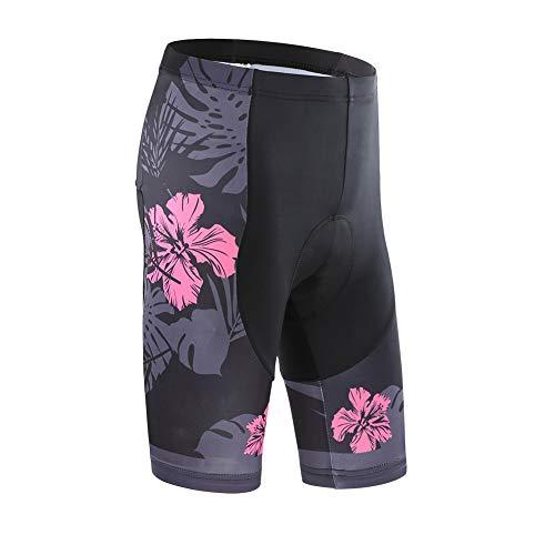 Femmes Maillot de Cyclisme 59D Gel Pantalons, Été Cyclisme Vêtements Respirant Séchage Rapide, 0004, XL