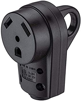 Miady 30AMP RV Replacement Female Plug with Easy Unplug Design ETL Certified
