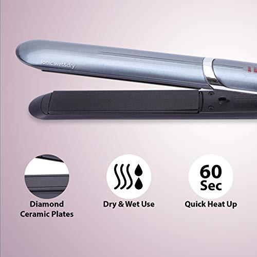 BaByliss IPro Slim ST387E – Plancha de pelo iónica, placas profesionales...
