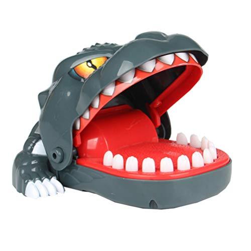NUOBESTY Krokodil Zähne Spielzeug Dinosaurier Biss Fingerspiel Krokodil Beißen Finger Zahnarzt Spiele Lustige Neuheit Spielzeug für Kinder Erwachsene