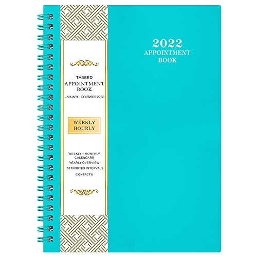 2022 Weekly Appointment Book & …