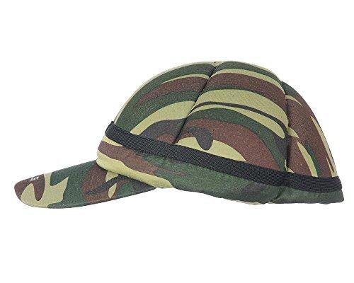 Atlas Paintball Flex Fit Padded Bounce Hat (Camo, Medium / Large)