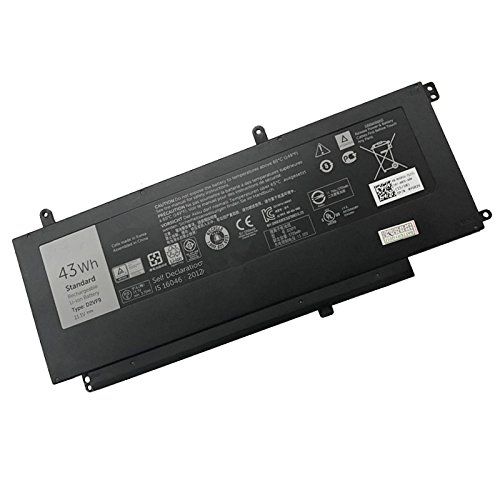 szhyon 11.1V 43Wh Original D2VF9 Laptop Battery compatible with Dell Inspiron 15 7547 0PXR51 PXR51 Tablet
