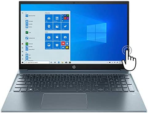 HP High Performance Pavilion 15 15 6 FHD Touchscreen Laptop 11th Gen Core i7 1165G7 WiFi 6 Backlit product image