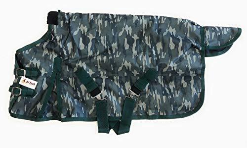 AJ Tack Miniature Horse Donkey Turnout Winter Blanket 1200D Waterproof 300g Medium Weight Camouflage 38