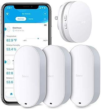 Govee WiFi Hygrometer Humidity Monitor (3 Sensors & 1 Gateway)