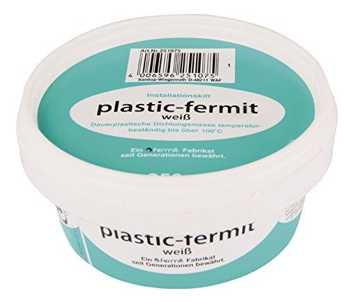 Sanitop-Wingenroth 25107 5 Plastic-Fermit Installationskit 250 g, Dose-250 g