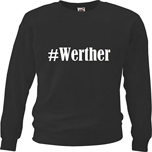 Reifen-Markt Sweatshirt #Werther Größe 2XL Farbe Schwarz Druck Weiss