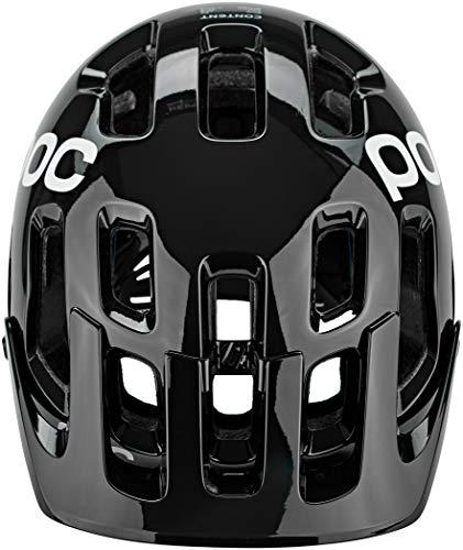 POC Sports Unisex's Tectal Race SPIN Cycling Helmet, Uranium Black/Hydrogen White, XS-S