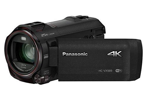 Panasonic HC-VX989EG-K videocamera 18,9 MP MOS BSI Videocamera palmare Nero 4K Ultra HD