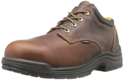 Timberland 47028 PRO Titan Oxford Safety Toe Shoe zapatos de seguridad, Marrón-Negro, 41.5