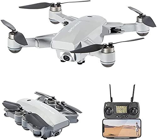 ZHCJH 5G WiFi FPV Drone GPS 6K Cámara HD Flujo óptico Poaitioning Sin escobillas Drones Plegables RC Quadcopter Inteligente Seguir una tecla Retorno Disparo por Gestos Negro 4 Batería