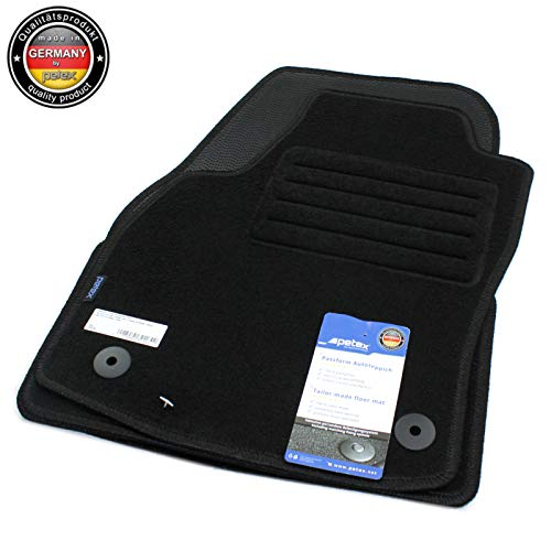 PETEX Fußmatten passend für Opel Astra H Caravan GTC Automatten Velours ab Bj.2004-10/2011