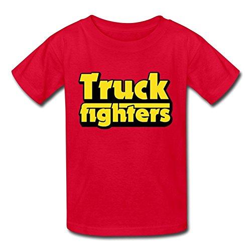Goldfish Youth Fashion Blank Truckfighter T-Shirt Medium
