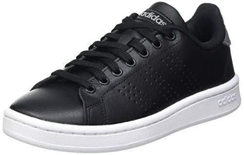 adidas Advantage, Scarpe da Tennis Uomo, Core Black/Core Black/Grey Three, 42 2/3 EU