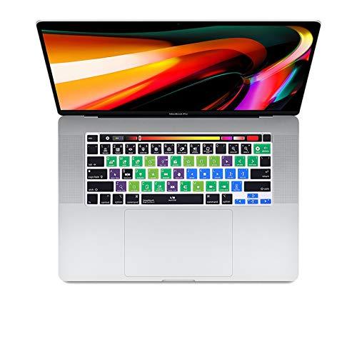 super-super Final Cut Pro X Shortcut Hotkey Keyboard Cover Skin For MacBook New Pro 16 2019 A2141 M1 Chip A2338/A2251/A2289 2020+-Final Cut Pro X