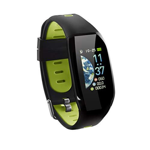 Sami Pulsera de Actividad smartband, smartwatch X-Treme, Pulso cardiaco, contapasos, Reloj Digital, Deporte, Vida, Correa Lima.