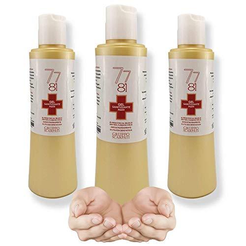 Gel 7781 Gruppo Scarpati igienizzante mani antibatterico elimina batteri 200ml…