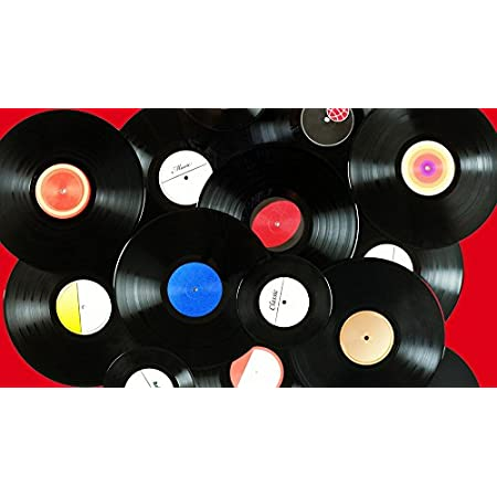 MINI ZOZI 7 inch Blank Vinyl Records Fake 10 Pieces in 1 Pack for Indie Aesthetic Room Decor or Home Decor on Wall for Bedroom or Living Room Discos Music Studio Hip Hop Decorative Purpose