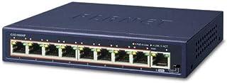 Planet GSD-908HP 8-Port 10/100/1000T 802.3at PoE + 1-Port Gigabit Desktop Switch