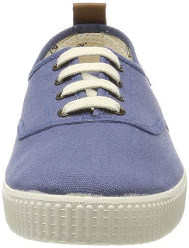 Victoria Nuevo 1915 Inglesa Tirador Piel, Zapatillas Unisex Adulto, Azul (Jeans 37), 44 EU