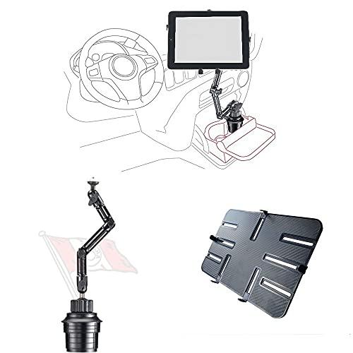 Onyx DO-UP - Supporto da auto per tablet iPad Reader Kindle Camera 10-13 pollici, portata 1,5 kg, in alluminio