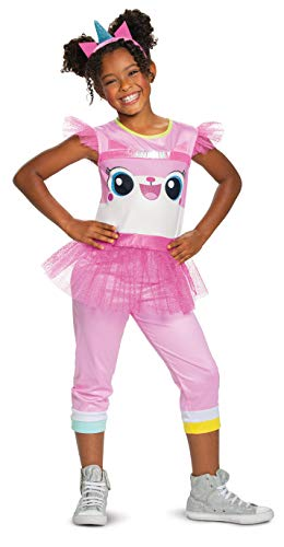 Disguise Unikitty LEGO Movie 2 Classic Girls' Costume