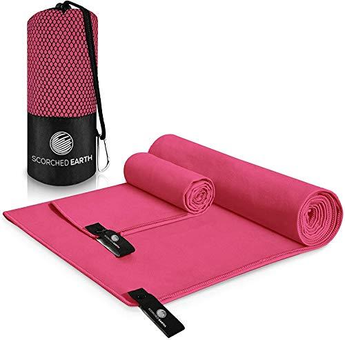 ScorchedEarth Microfiber Travel & Sports Towel Set