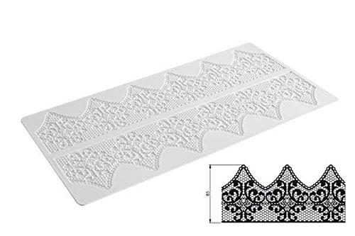 Silikomart Fantasy Tapis en Silicone 400 x 200 mm