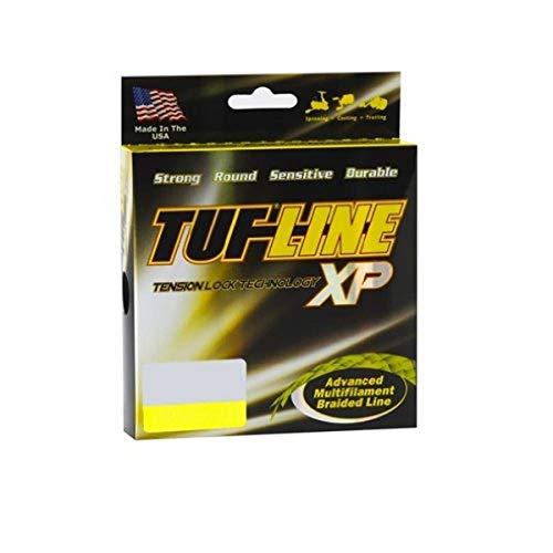 Tuf-Line XP Angelschnur geflochten, 300 m, Unisex-Erwachsene, XP30300YE, gelb, 300-Yard/30-Pound