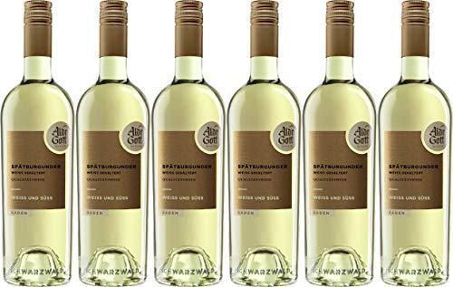Alde Gott Winzer Schwarzwald Spätburgunder Weiß & weiß gekeltert Qualitätswein 2019 Edelsüß (6 x 0.75 l)