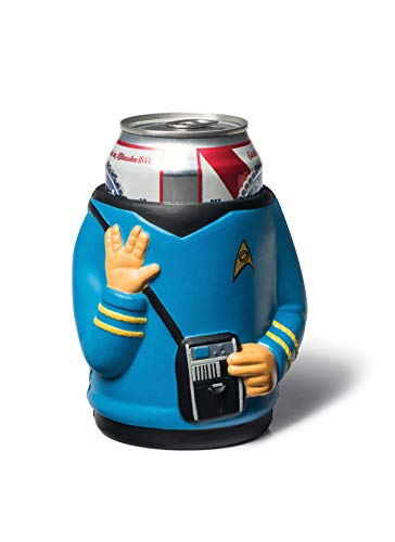 BigMouth Inc Star Trek Spock Getränkekooler, blau, hält Dose oder Flasche, hält Getränke kalt