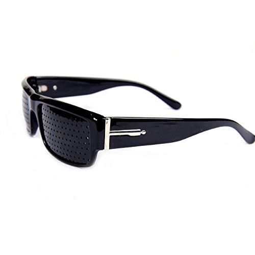 FreshGadgetz 1 Ensemble de Nouveau sténopé lunettes qui améliore la vue Vision - Lunettes à Grille