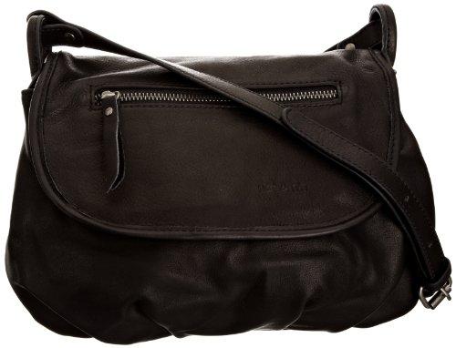 Nat & Nin Damen Jen Crossbody-Tasche, schwarz