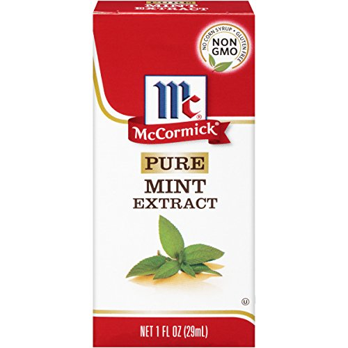 McCormick Pure Mint Extract, 1 fl oz (Pack of 6)