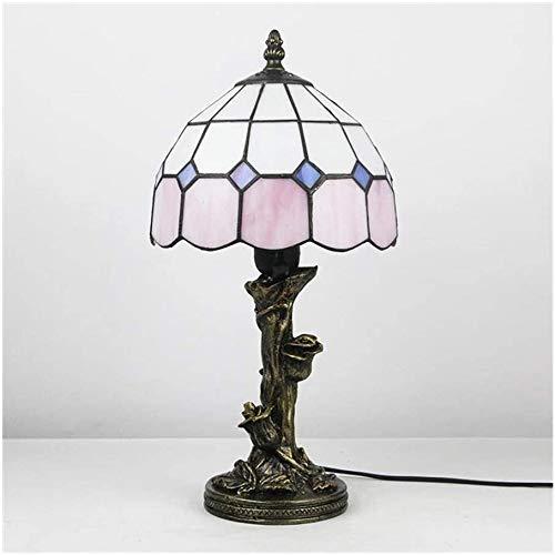 MISLD Tiffany Tischlampe Nachttischlampe Schlafzimmerlampe Großhandel Retro Ebay Beleuchtung Lampe Amazon - Study Standard