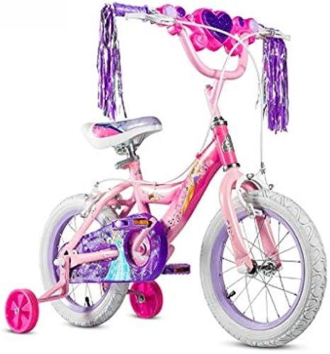 Kinder fürrad Student Mountainbike mädchen fürrad 12 14 16 Zoll Prinzessin Light Box fürrad perfekte Geschenk (Farbe   Rosa, Größe   16INCH(115CM20CM5cm))