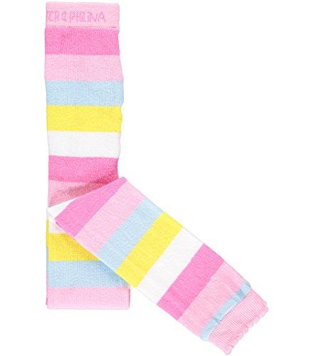 Phister & Philina Mädchen KIS Striped Leggings, Mehrfarbig (Prism Pink Pri), 98 (Herstellergröße: 2-3Y)