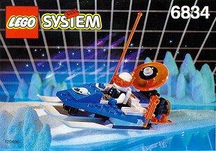 LEGO System Ice Planet 6834 Bob