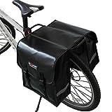 Foliner Wasserdichte Gepäckträgertaschen, robuste Rücksitztasche, große Kapazität, Fahrrad-Rücksitztasche, Fahrrad-Zubehör für Pendler, Einkaufen, Reiten, Picknick