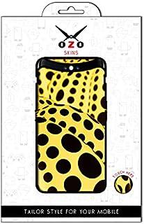 لاصقة حماية من اوزو برسمة اليايو الصفراء لموبايل Vivo Y20s