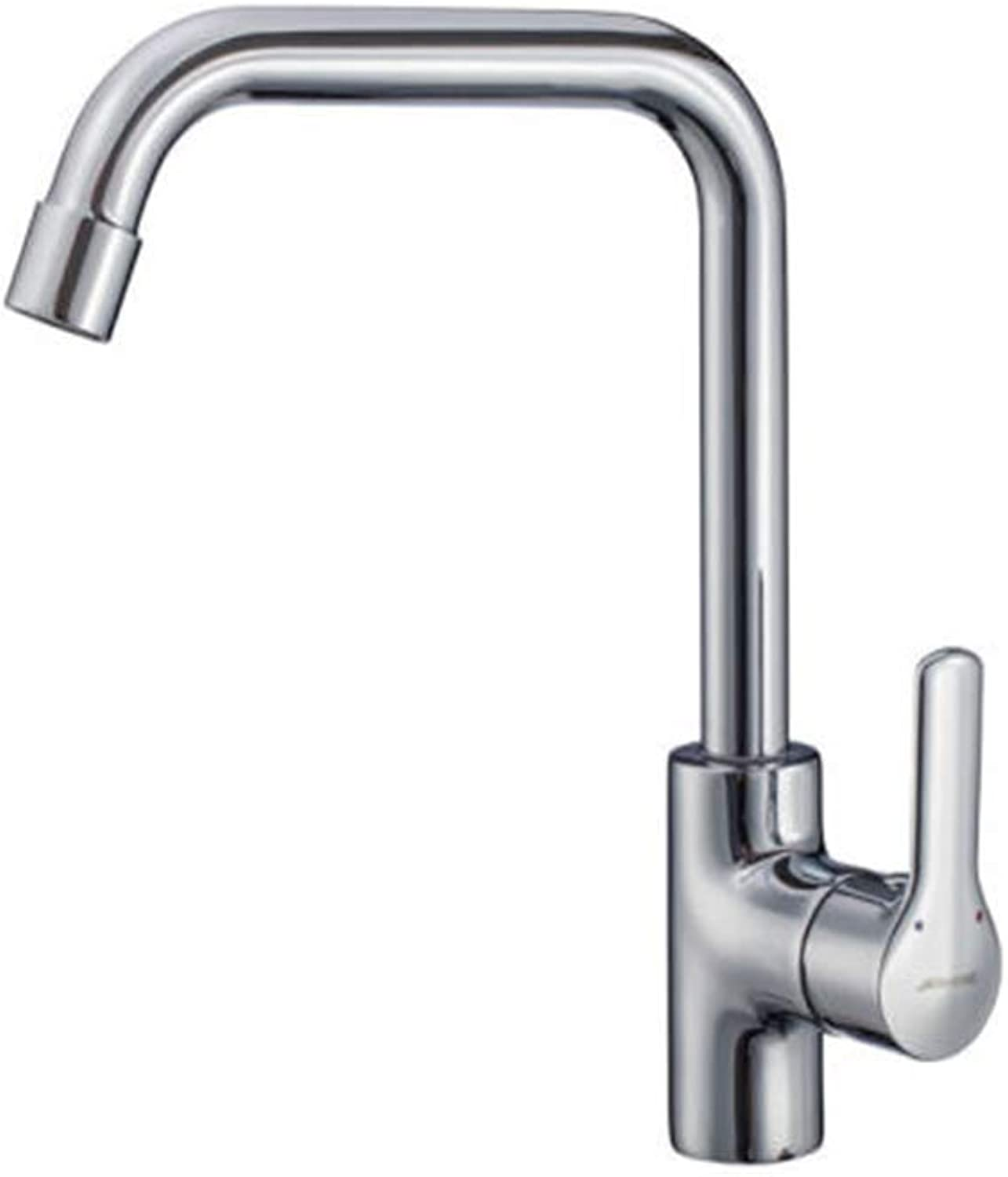 Kitchen Taps Faucet Modern Kitchen Sink Taps Stainless Steellead Kitchen Single redary Cold and Hot Water Tank Vegetable Washing Basin
